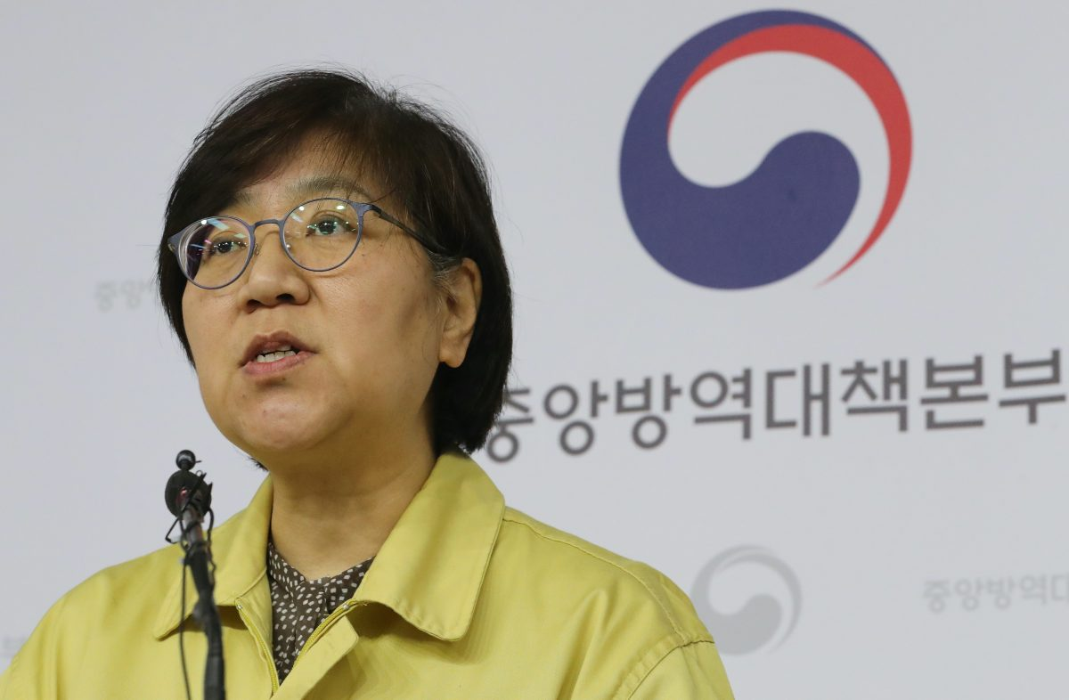 Jung Eun-kyeong is the chief of the Centers for Disease Control in South Korea. (Credit: Twitter)