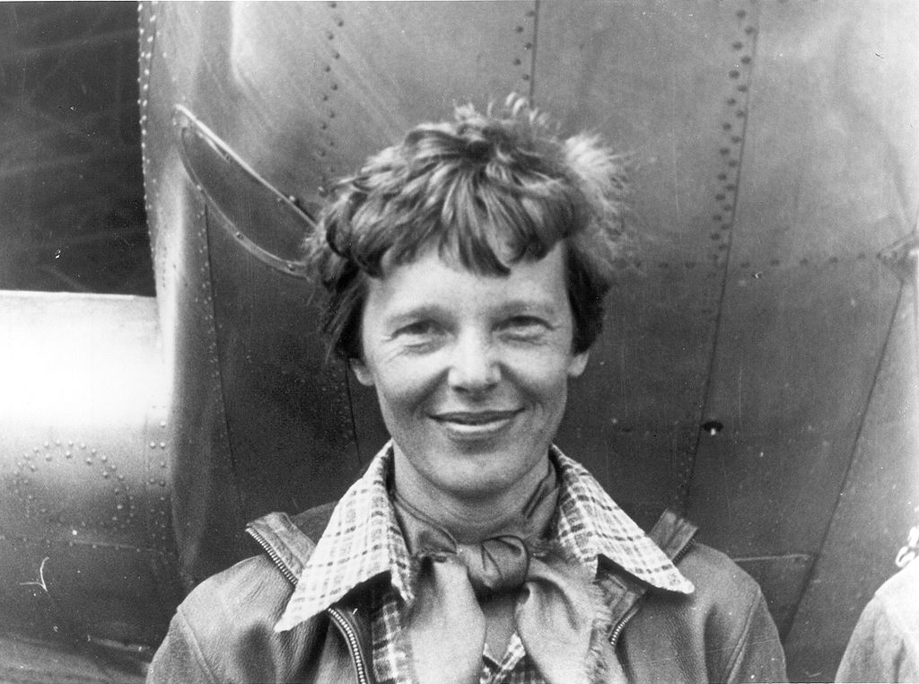 "Famous aviator Ameilia Earhart didn't want to be referred to as ""Mrs. Putnam,"" according to the New York Times' Mrs. Files project. (Credit: Wikimedia Commons)"