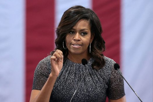 Former FLOTUS Michelle Obama gave a virtual commencement address, urging 2020 graduates to speak up - and act - through the pandemic and racial uprising. (Credit: Wikimedia Commons)