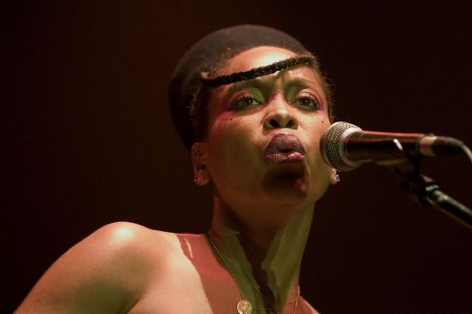Renowned singer Erykah Badu employed her signature outside-the-box thinking to keep performing and paying her team amid the coronavirus crisis. (Credit: Wikimedia Commons)