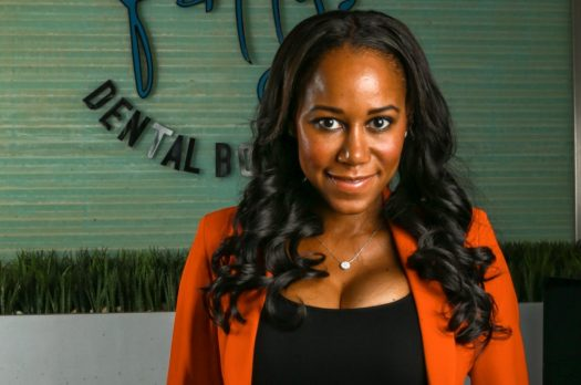 Dr. April Patterson, founder of Dr. Patty's Dental Spa, recalls being one of just two Black women in dental school. Now, she's elevating her own profile to be a role model to others. (Credit: Dr. Patty's Dental Spa)
