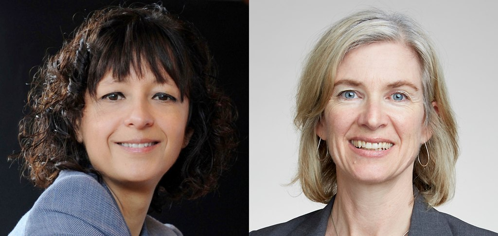 Emmanuelle Charpentier and Jennifer Doudna created a tool to alter genes. It earned them the top scientific distinction. (Credit: Wikimedia Commons, Creative Commons)