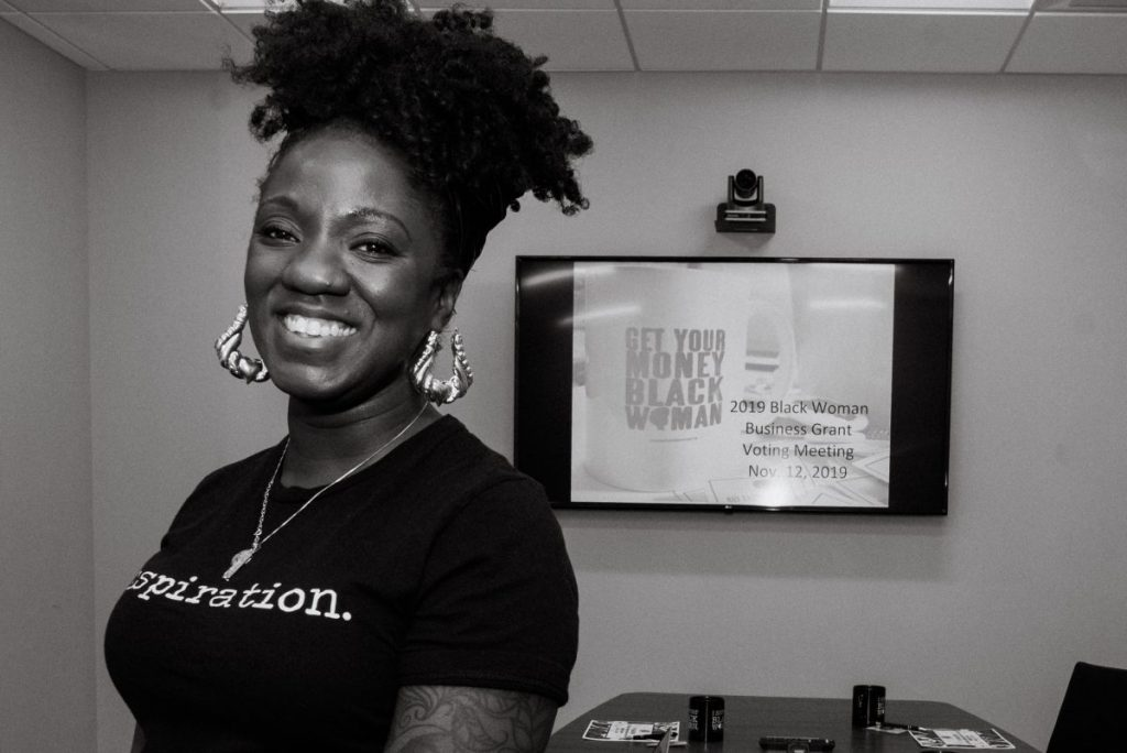 Nikki Porcher's mission is to make sure as many folks as possible do this one thing: buy from a black woman. (Credit: Buy From a Black Woman)