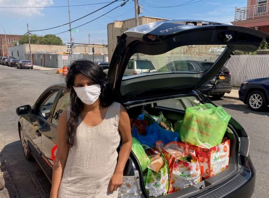 Sarah Thankam Mathews started Bed-Stuy Strong in March to combat food insecurity in the historically Black neighborhood of Brooklyn, NY.