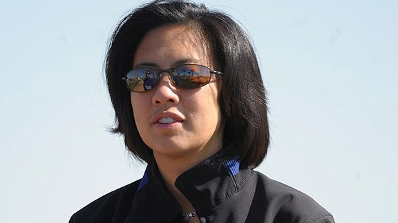 Kim Ng makes history as first woman to lead the Miami Marlins. (Credit: @Marlins Twitter)