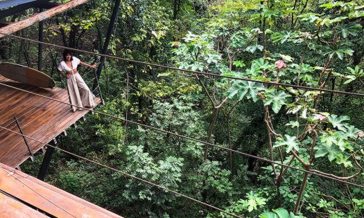 Maybe it's time to escape to a treehouse in Costa Rica. (Courtesy Jade Moyano)